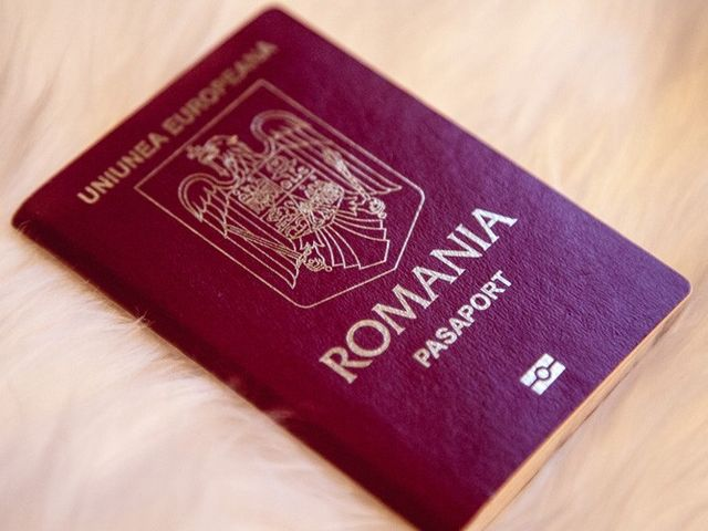 Romanian passport 02